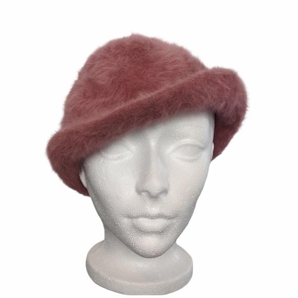 Vintage angora wool fedora